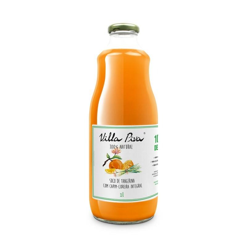 Suco de Tangerina com Capim-Cidreira • 1 litro
