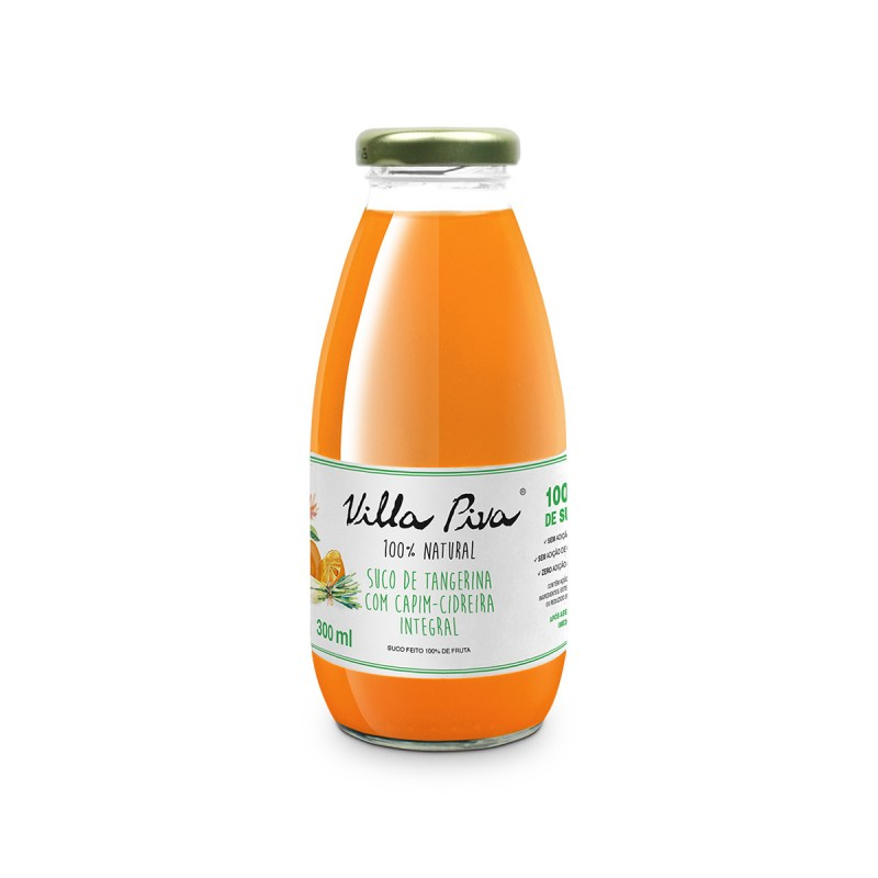 Suco de Tangerina com Capim-Cidreira • 300 ml