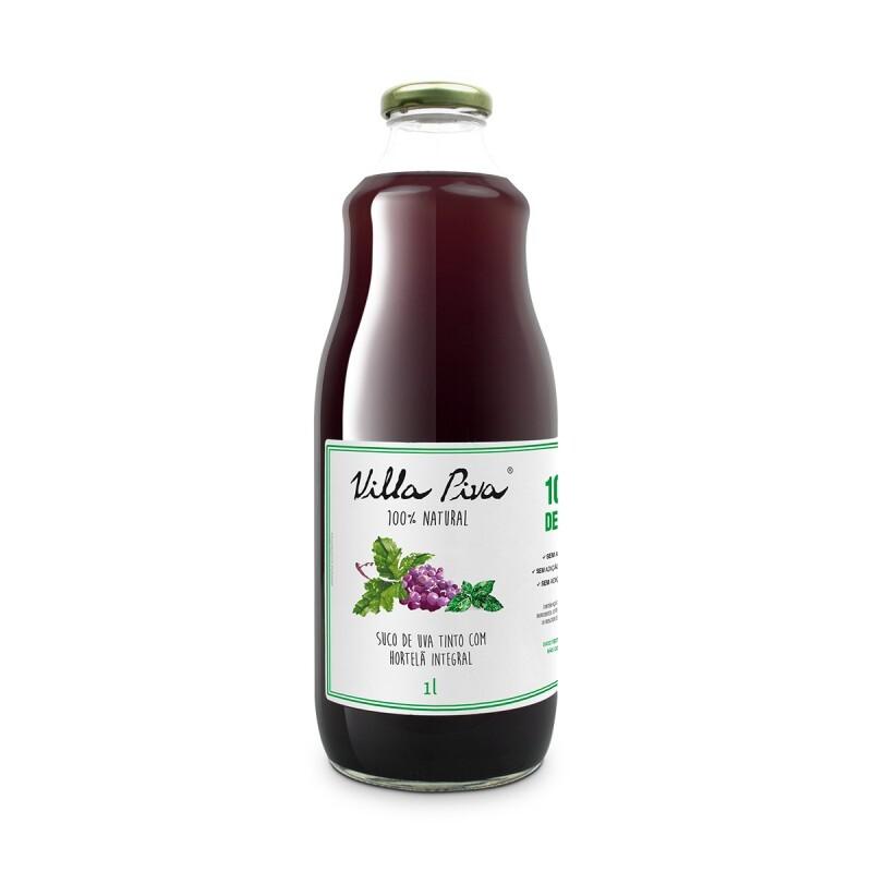 Suco de Uva com Hortelã • 1 litro