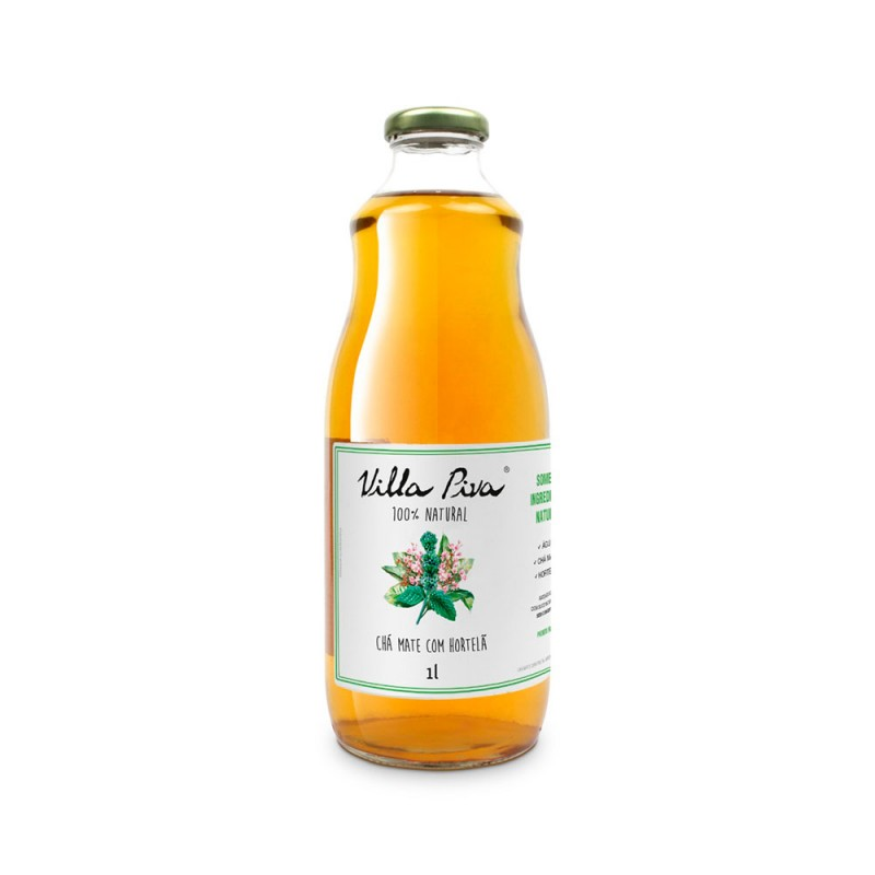 Chá Mate com Hortelã • 1 litro