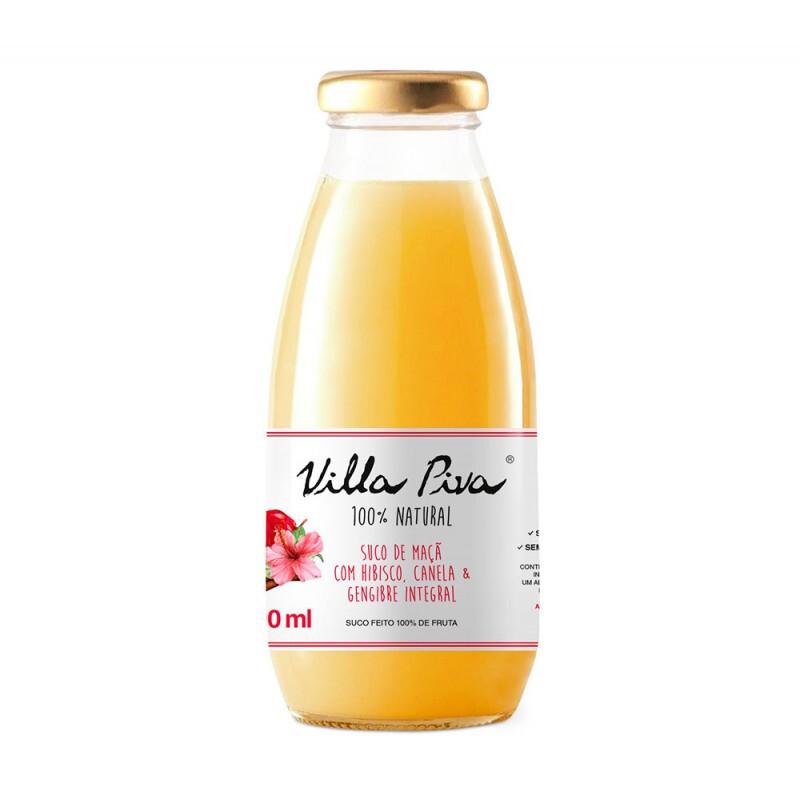 Suco de Maçã com Hibisco, Canela & Gengibre • 300 ml