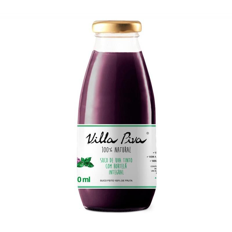 Suco de Uva com Hortelã • 300 ml